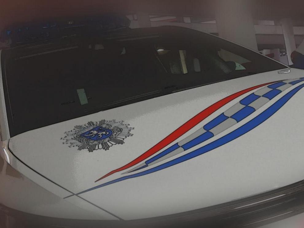 Coche de la Policía Local de Zaragoza