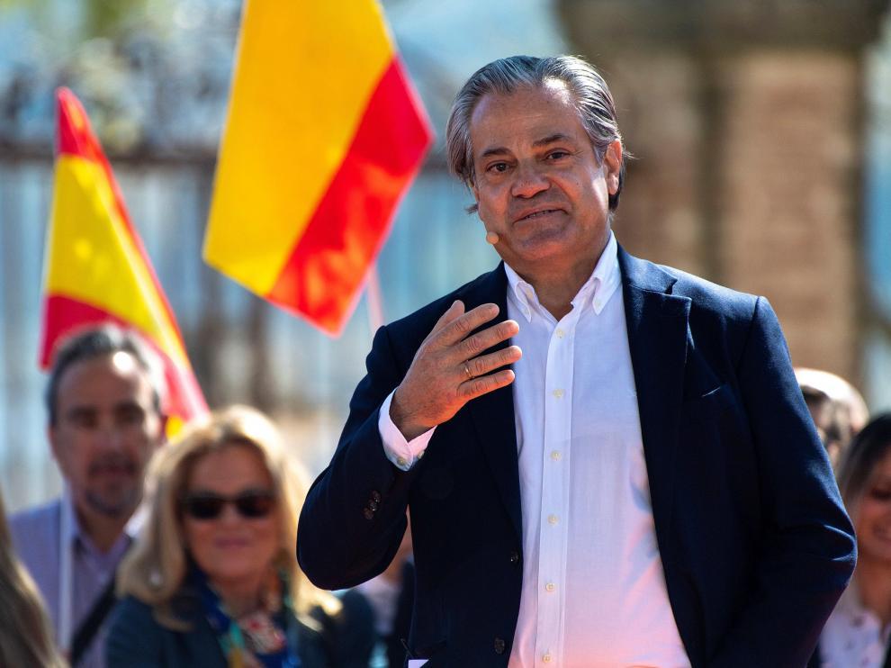 Marcos de Quinto, exvicepresidente de Coca-Cola, número dos de Ciudadanos por la lista de Madrid.