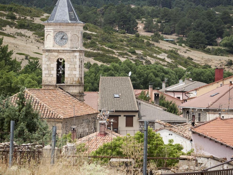 Guadalaviar, en la sierra de Albarracín.