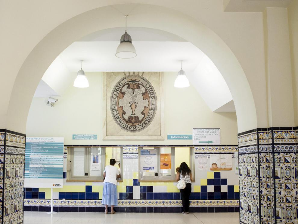 REPORTAJE SOBRE EL ARTE QUE SE CONSERVA EN EL HOSPITAL PROVINCIAL / 29-08-2014 / FOTO: ARANZAZU NAVARRO