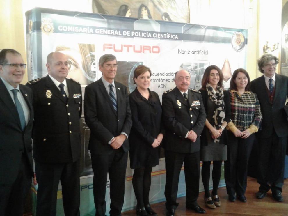 Comisaria General de Policía Científica en el ciclo de conferencias 'Un cuarto de siglo de liderazgo en la ciencia forense'.