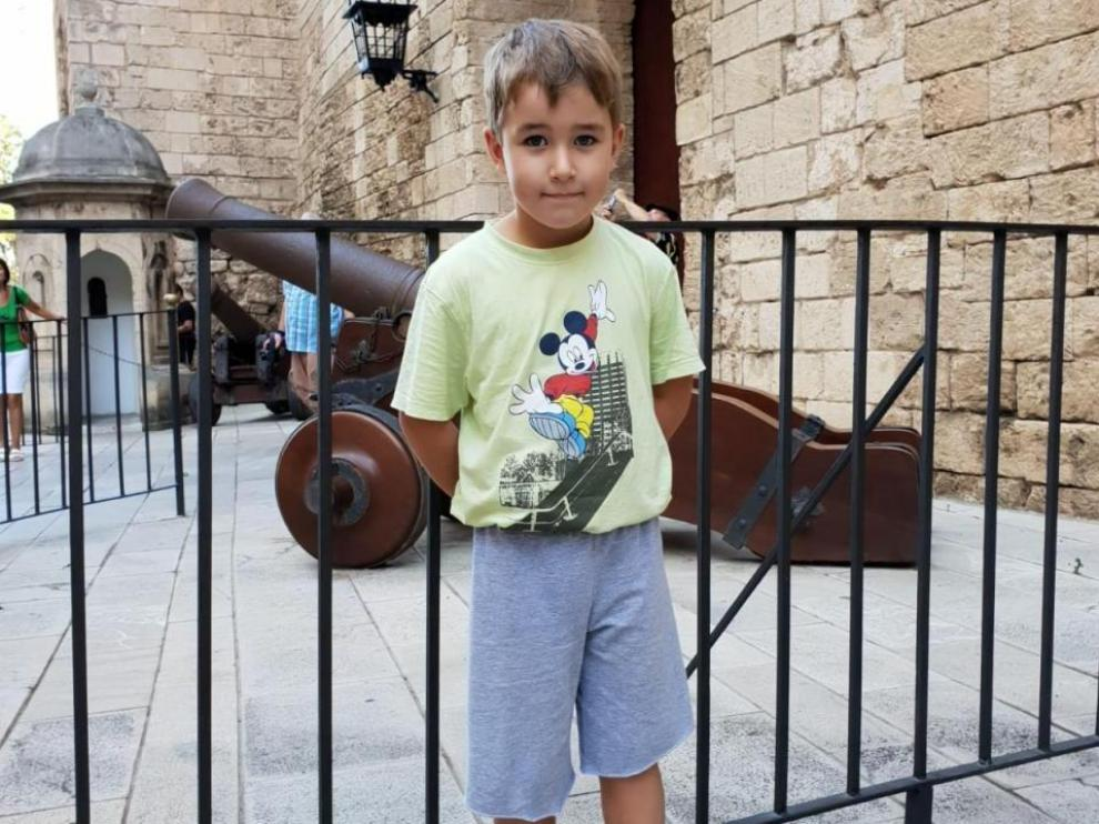 Imagen del niño desaparecido en Calviá.