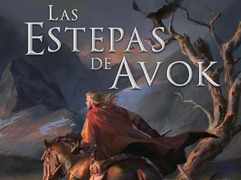 Portada del libro 'Las estepas de Avok'.