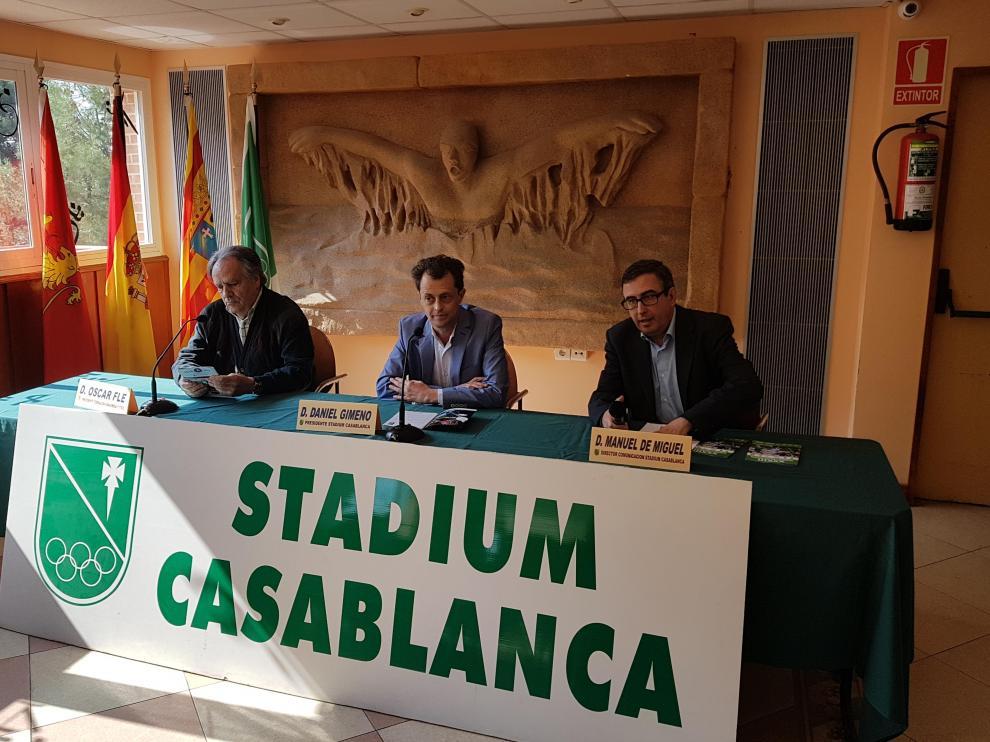 Presentación del Torneo del Cesaraugusta de fútbol cadete
