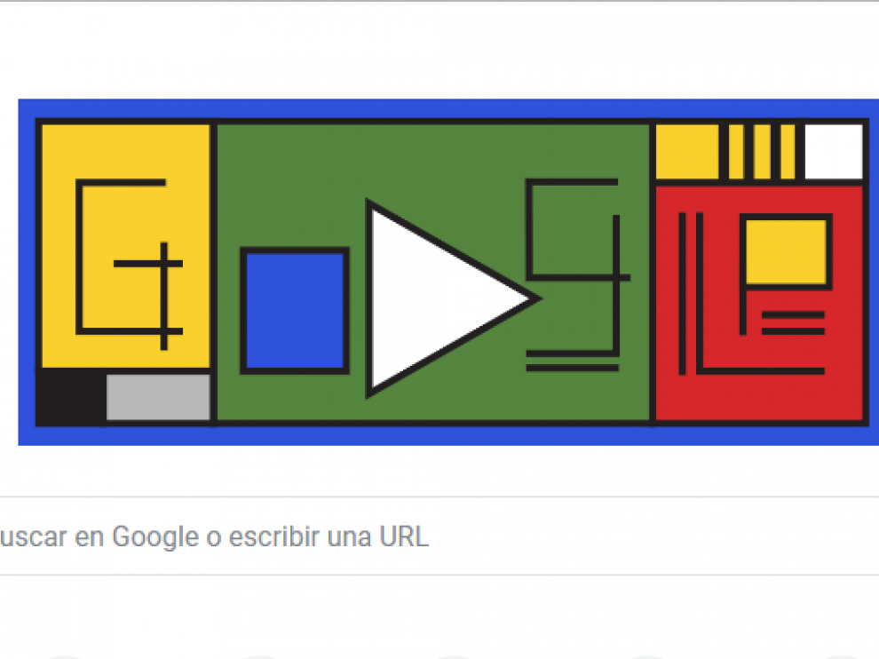 El 'doodle' dedicado a la Bauahus.
