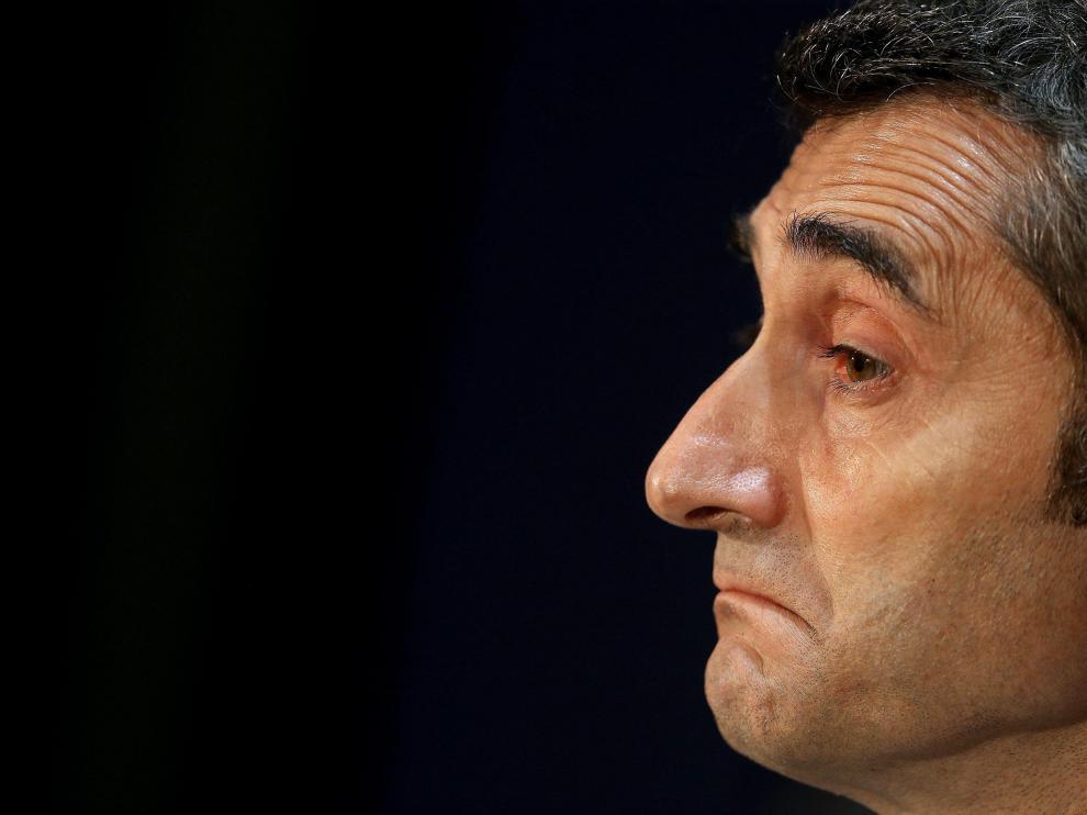 Ernesto Valverde, entrenador del Fútbol Club Barcelona.