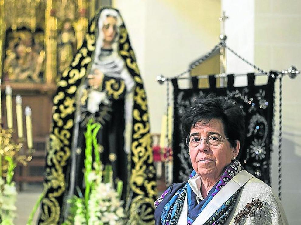 CONTRAPORTADA. Iglesia de San Pablo. Carmen Etayo Hermana Mayor de las esclavas / 12-04-2019 / GUILLERMO MESTRE [[[FOTOGRAFOS]]]