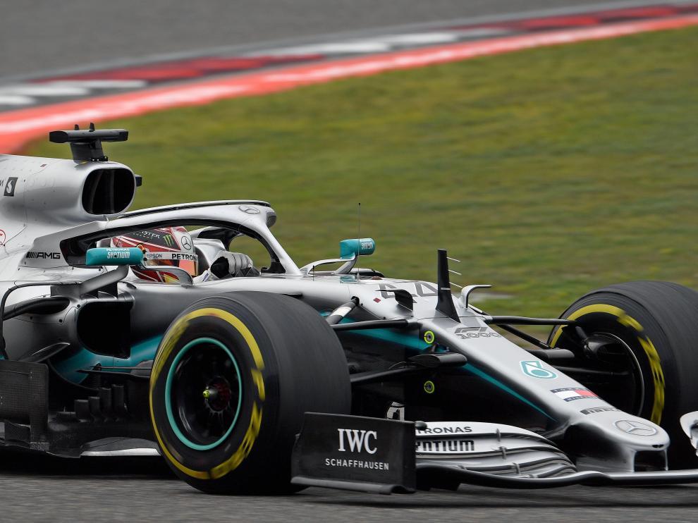 Hamilton gana el Gran Premio de China.