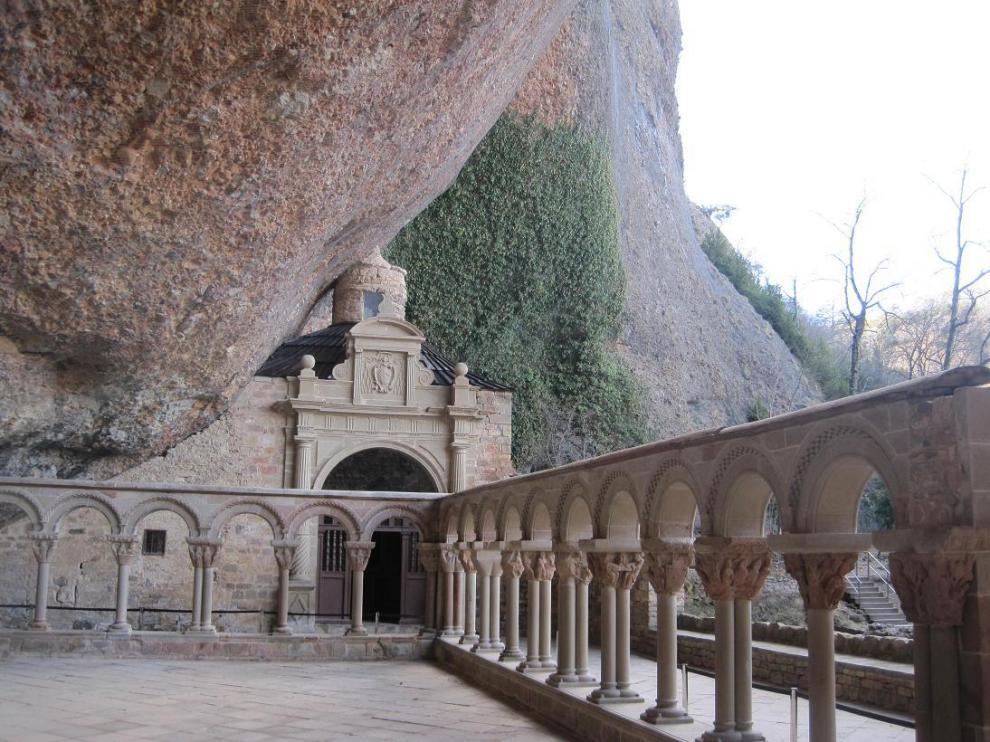Monasterio de San Juan de la Peña, en Huesca.