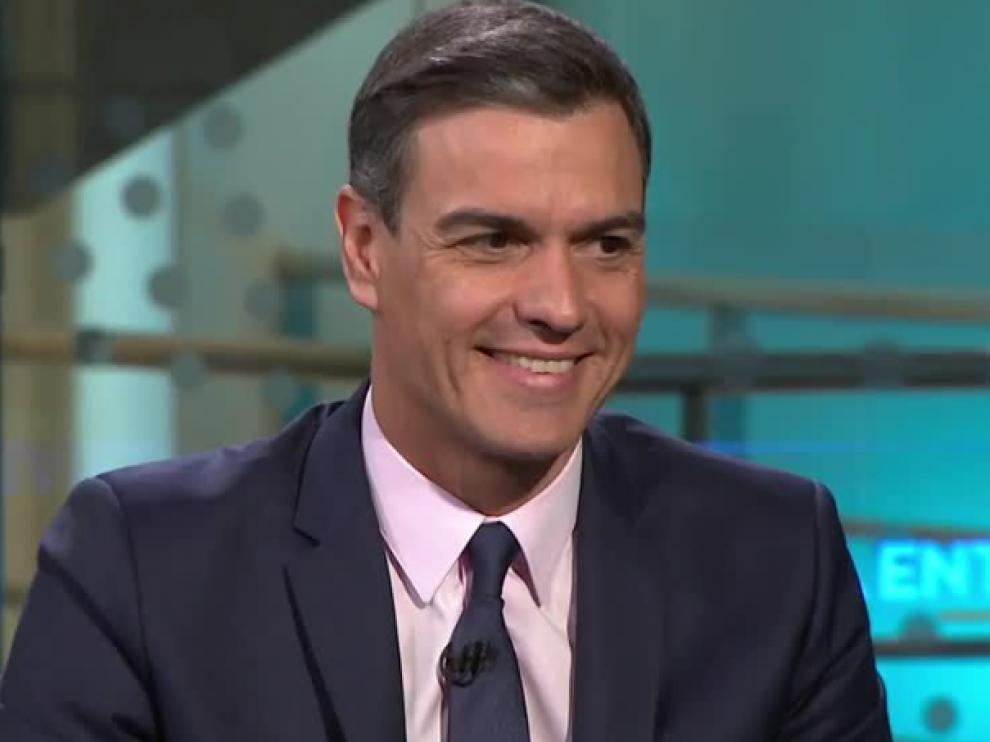 El presidente del Gobierno, Pedro Sánchez, en Antena 3.