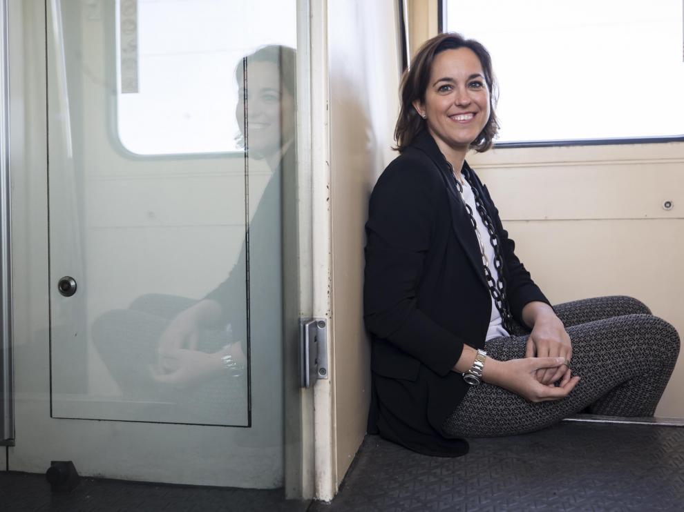 """Cada euro invertido en I+D+i repercute muy positivamente"", afirma Pilar Fernández de Alarcón."