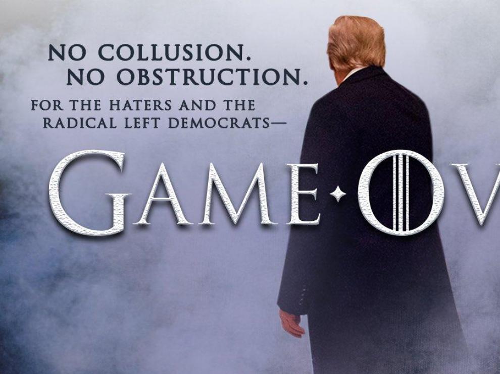 Imagen tuiteada por Trump