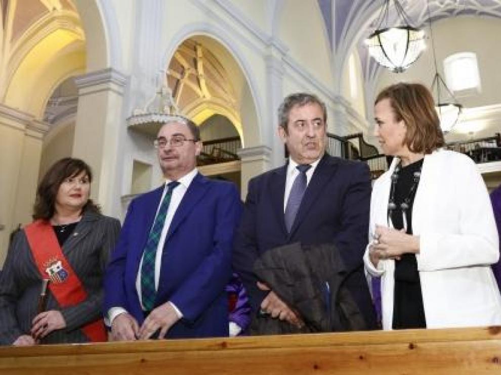 Zaragoza, junto a Lambán, este jueves en Alcorisa