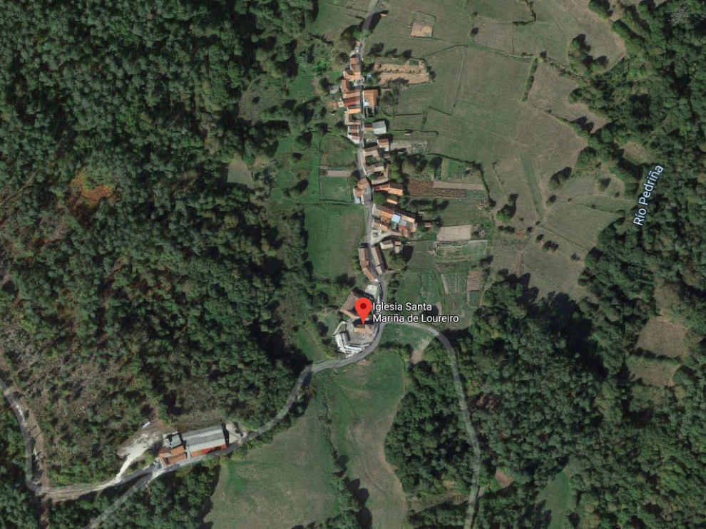 Los destrozos se produjeron en tres piezas ubicadas en la parroquia de Santa Mariña de Loureiro, término municipal de Irijo.