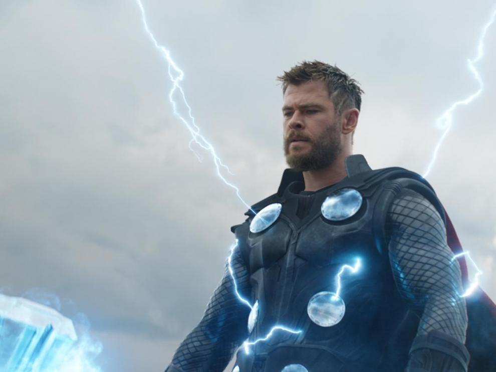 Chris Hemsworth vuelve a la piel de Thor en 'Endgame'.