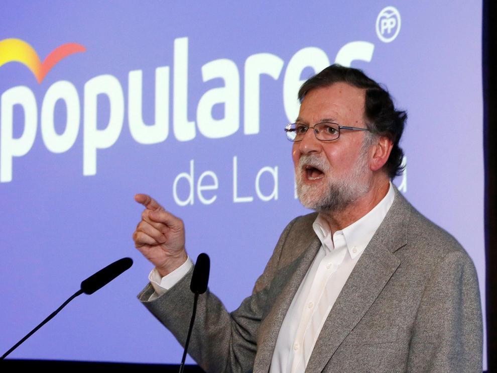 El expresidente del Gobierno y del PP, Mariano Rajoy.