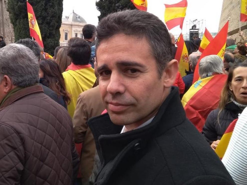 El militante de Cs que quedó en segundo lugar en las primarias en Murcia, Leonardo Pérez.