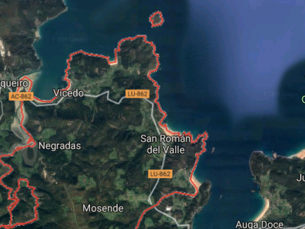 El suceso ha ocurrido en un acantilado de Vicedo, Galicia.