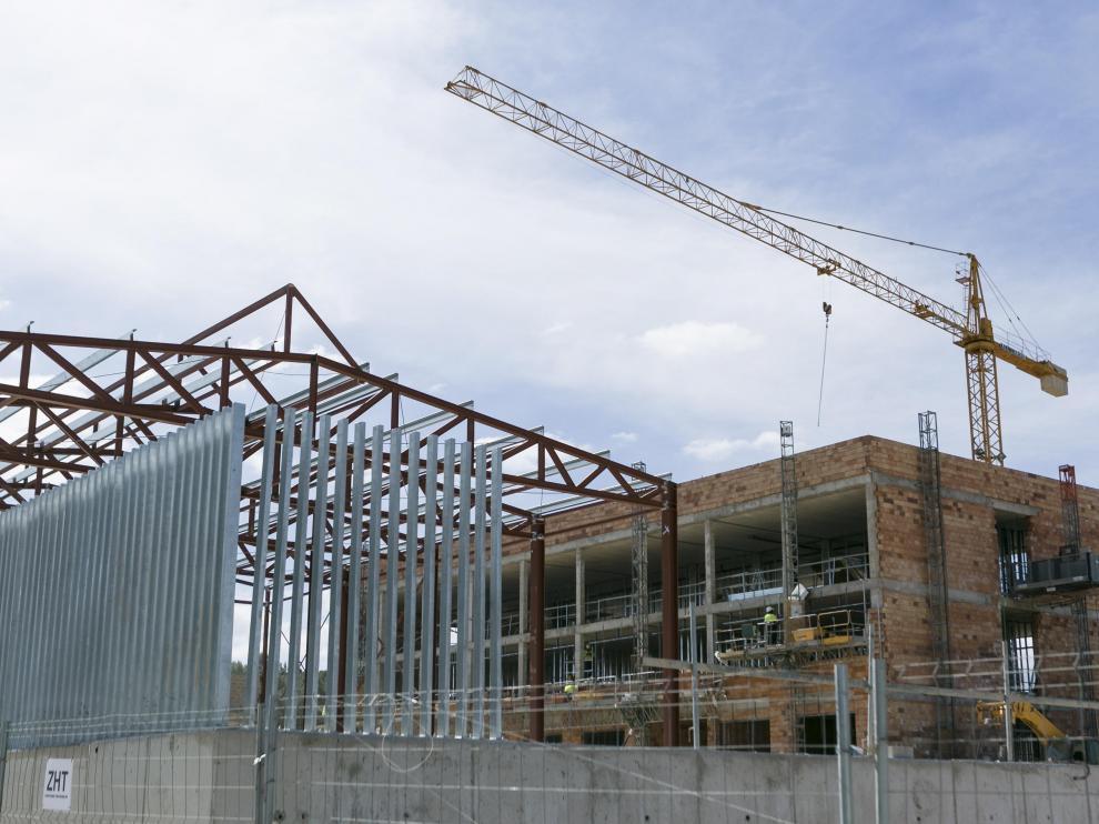 El aulario de primaria del colegio Parque Venecia está previsto que esté terminado para el curso próximo.