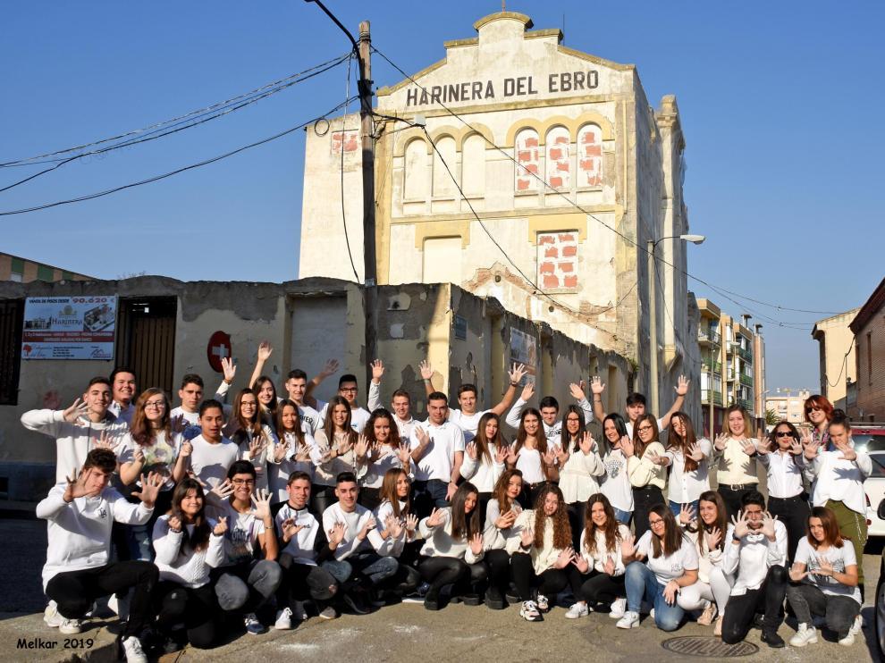 Imagen de los participantes este año en el proyecto 'Generación' de Casetas