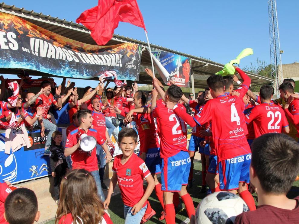 Fútbol. Tercera División- Tarazona vs. Binéfar.