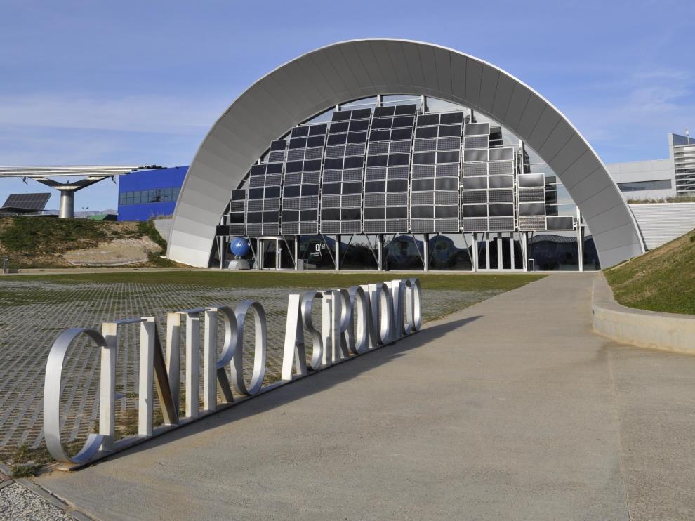 Instalaciones del exterior del Planetario.