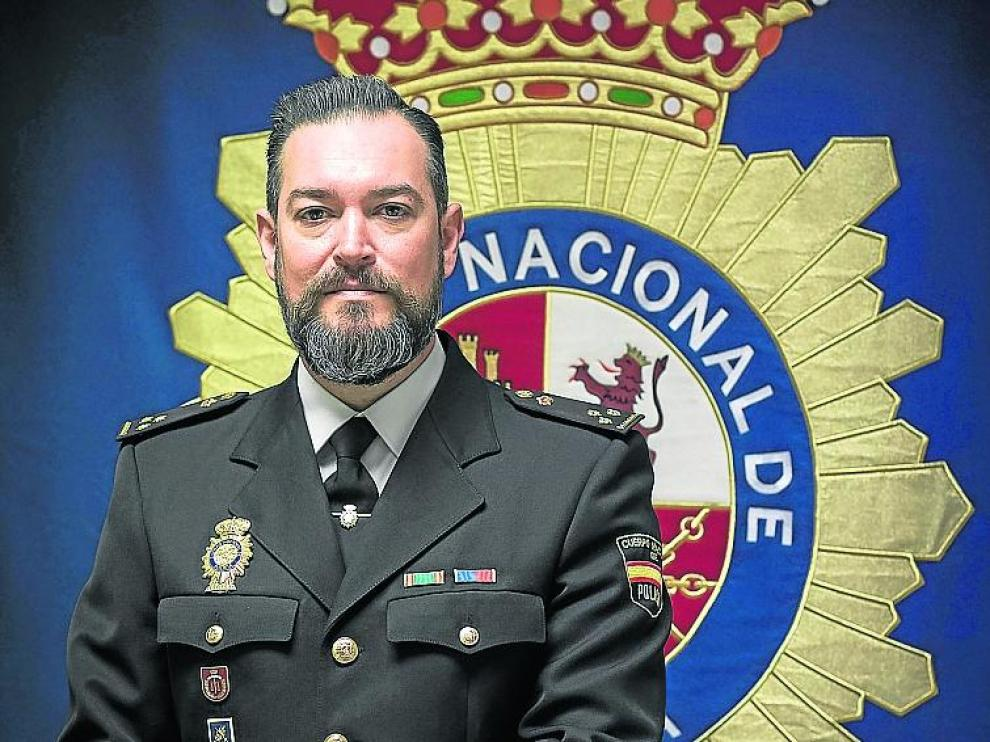 Fernando Sánchez, jefe del grupo de delincuencia organizada.
