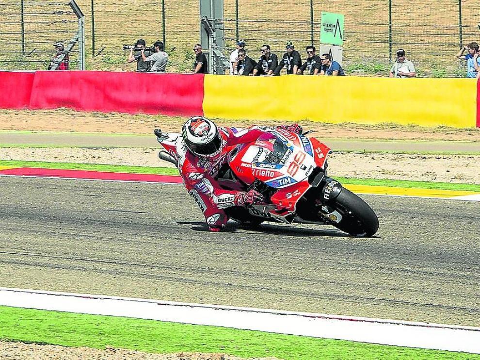 Prueba del Mundial de MotoGP en Motorland.