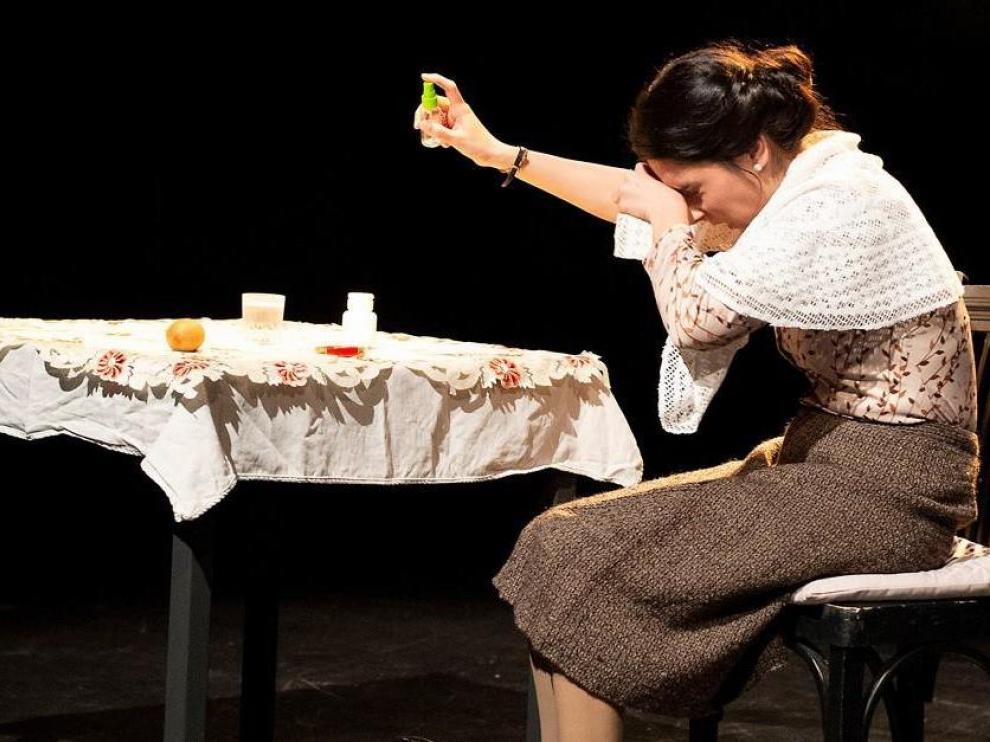 Raquel Vicente protagoniza 'Margarita Nelken', este miércoles 1 de mayo en las Esquinas.