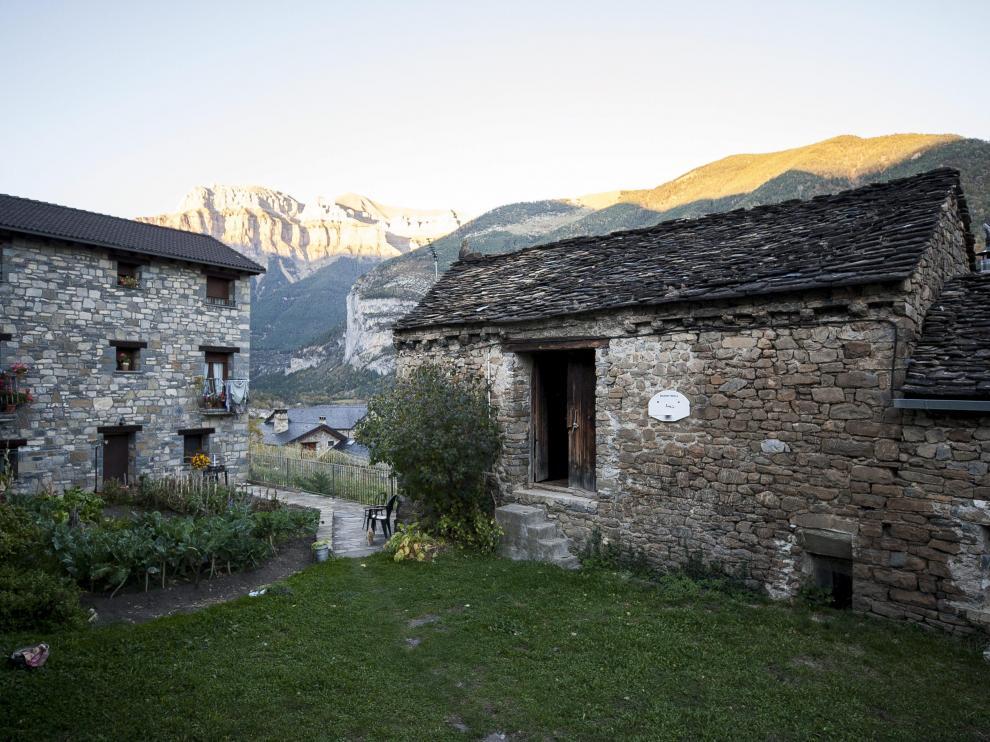 La localidad de Torla-Ordesa, en la comarca del Sobrarbe.