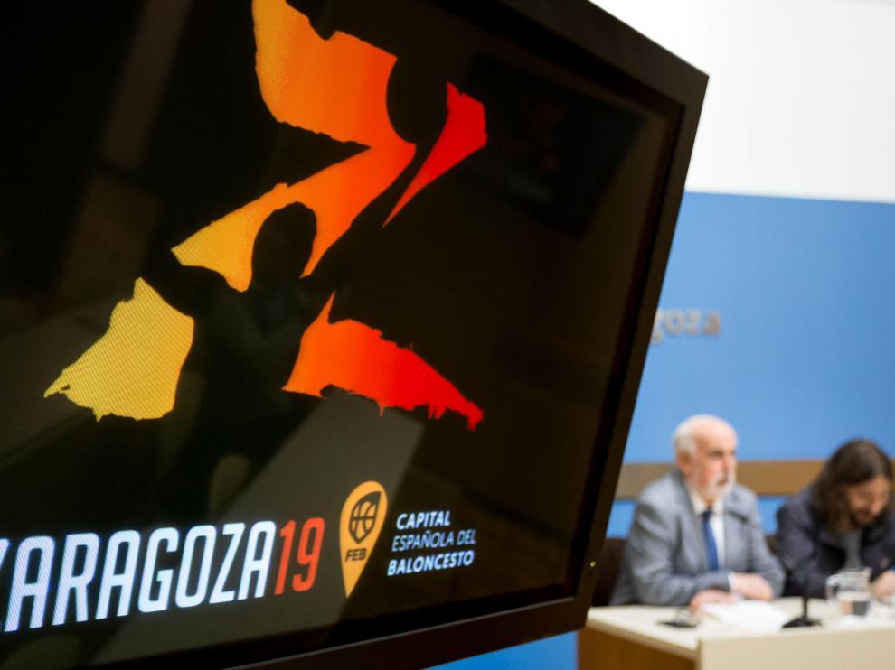 Presentación del Campeonato de España júnior masculino, que se celebra del 5 al 11 de mayo