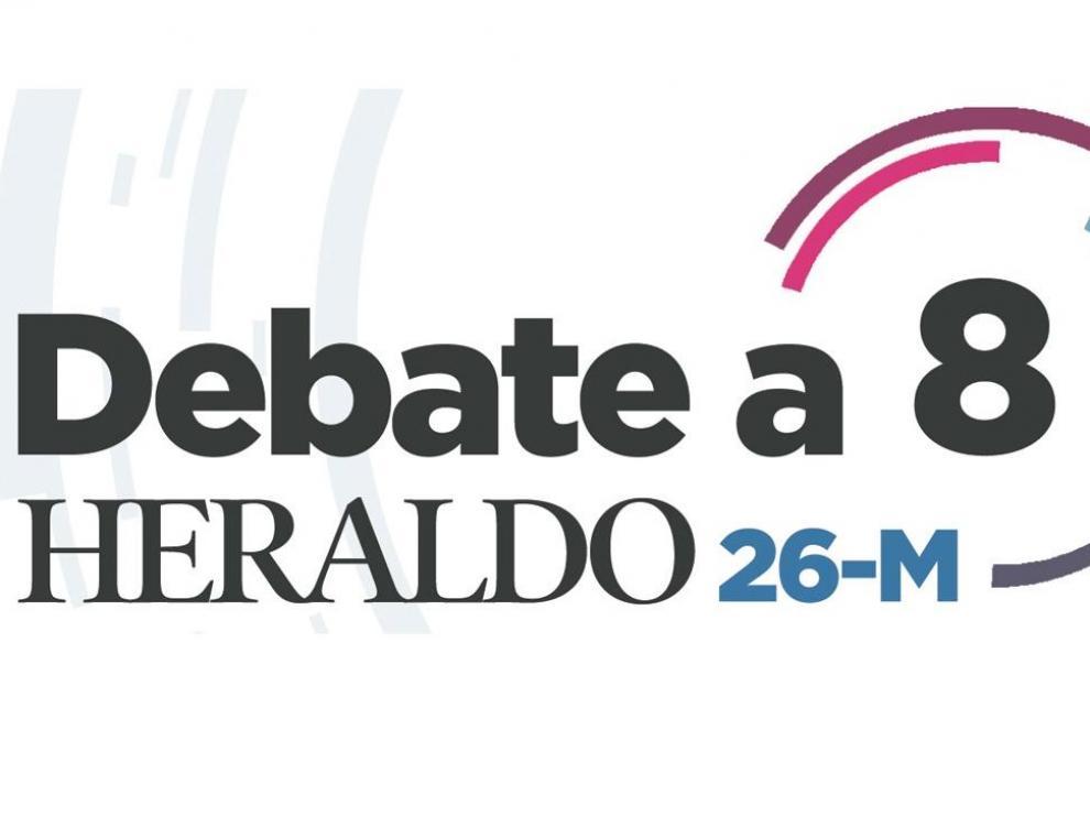 Debate a 8 en HERALDO, por el 26-M.