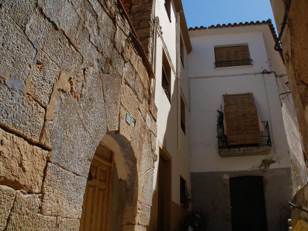La agresión se produjo en la calle de Garía de Caspe.