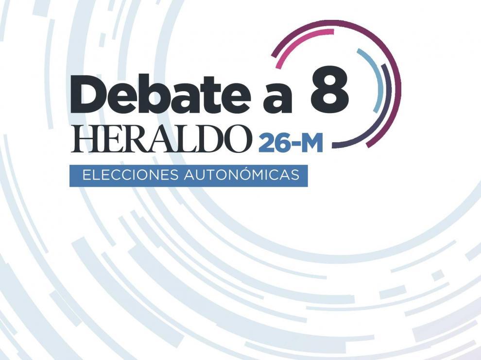 Debate a 8 de HERALDO DE ARAGÓN para las elecciones autonómicas y municipales