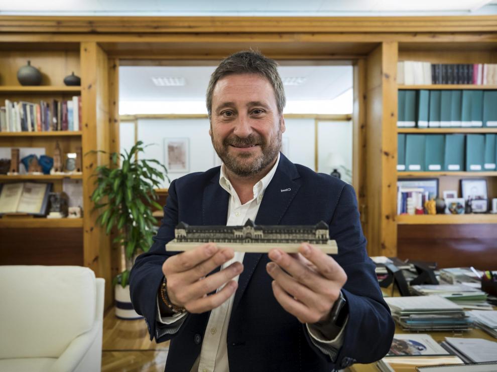 José Luis Soro es consejero de Vertebración del Gobierno de Aragón y candidato de CHA a la presidencia del Gobierno aragonés.