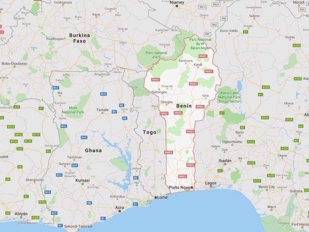 El cuerpo fue hallado en el Parque Nacionalde Pendjari, junto a la frontera de Benín con Burkina Faso.