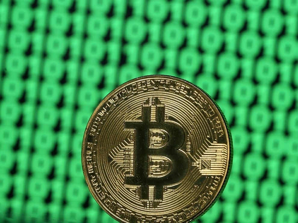 Imagen de un bitcoin