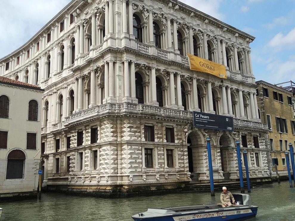 Muestra de Venecia.