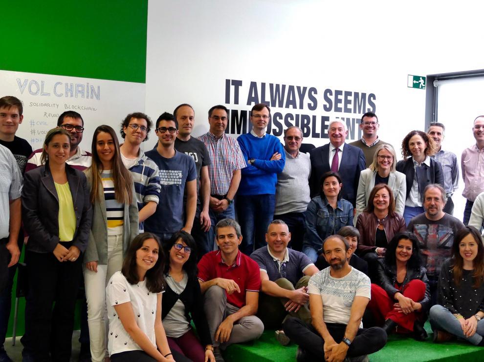 Equipo de técnicos de Itainnova que han diseñado e impartirán el programa Líderes 4.0.