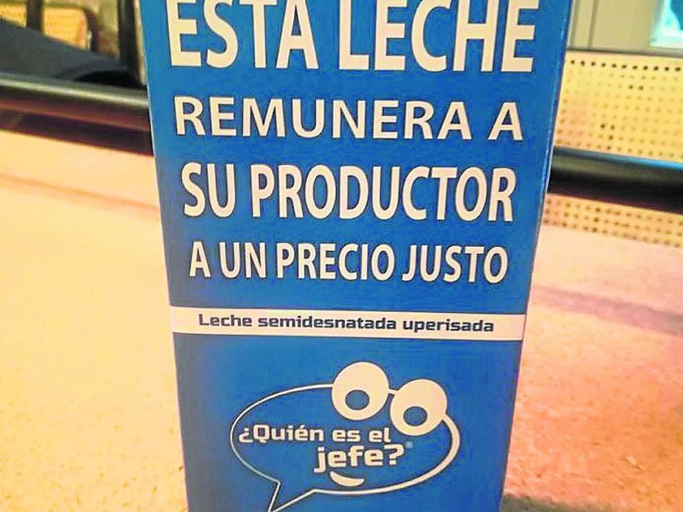 Envase de la marca de consumidor presentada en España, a semejanza de la iniciativa francesa.