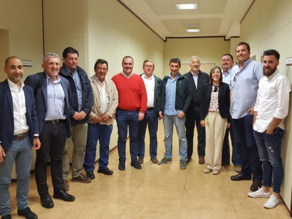 Candidatura conjunta presentada por las cuatro organizaciones agrarias aragonesas al Comité Aragonés de Agricultura Ecológica