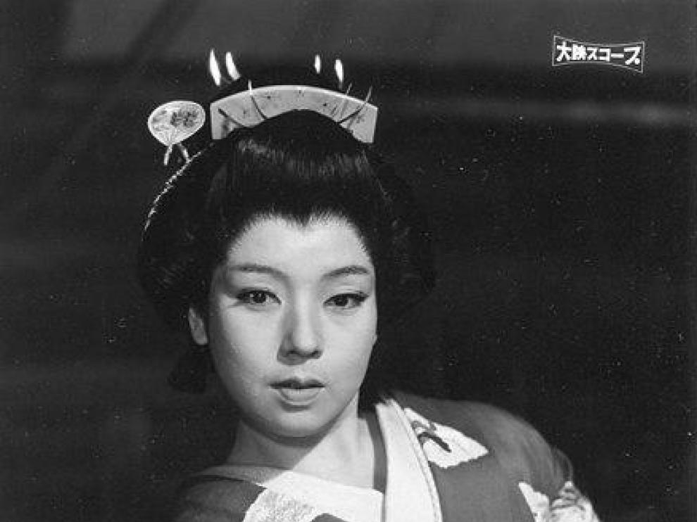 La actriz Machiko Kyo.