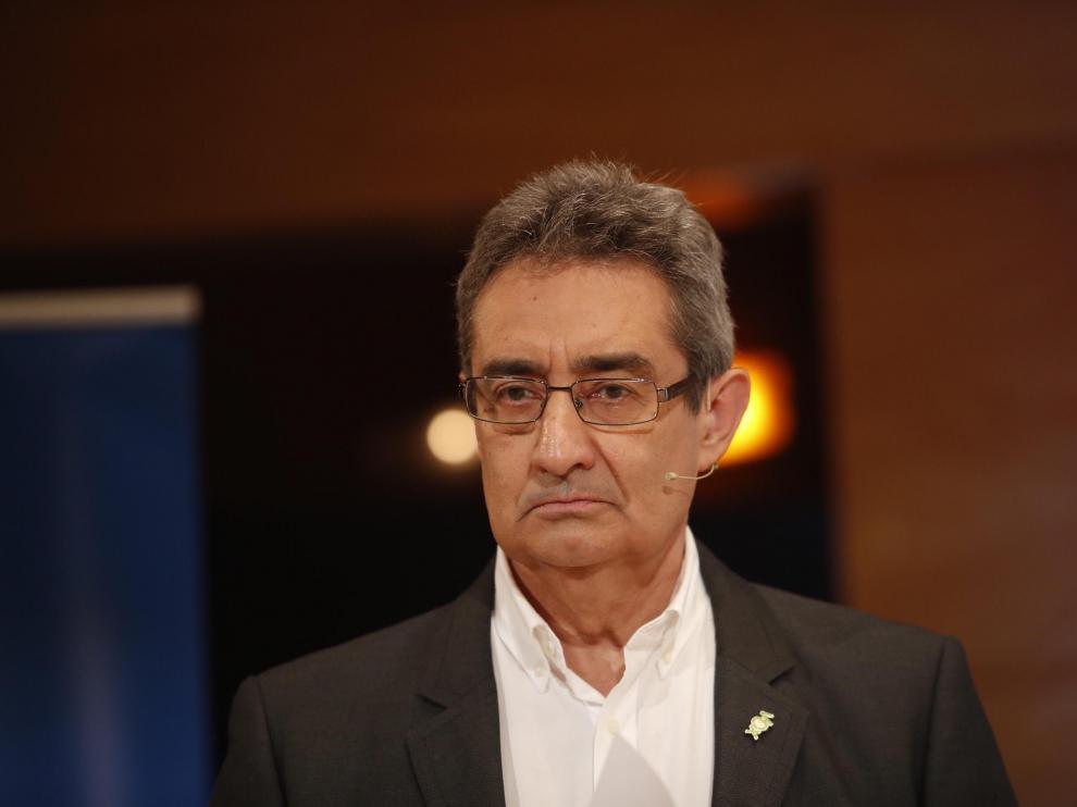 Julio Calvo, candidato de Vox al Ayuntamiento de Zaragoza.