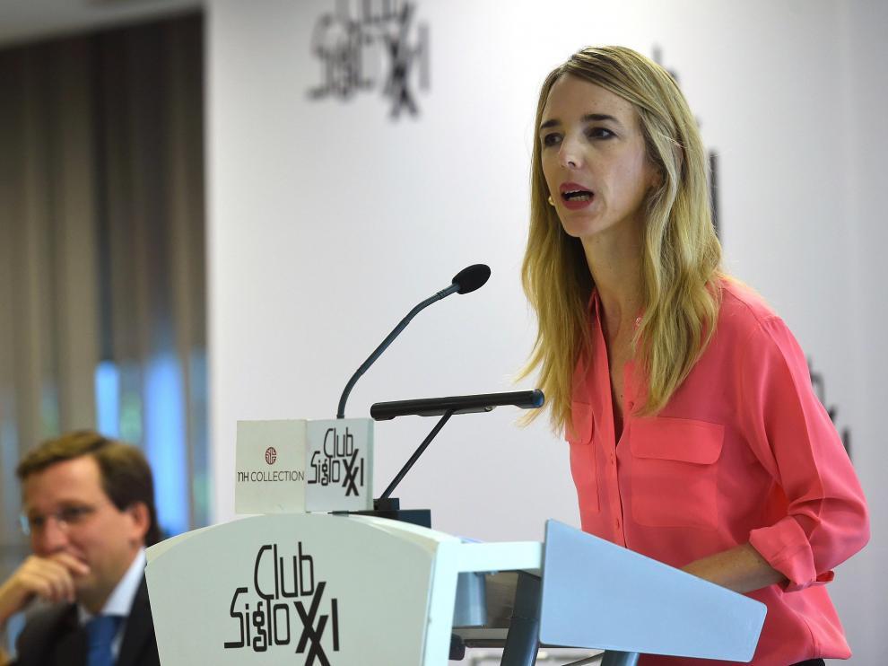 La diputada electa del PP Cayetana Álvarez de Toledo.