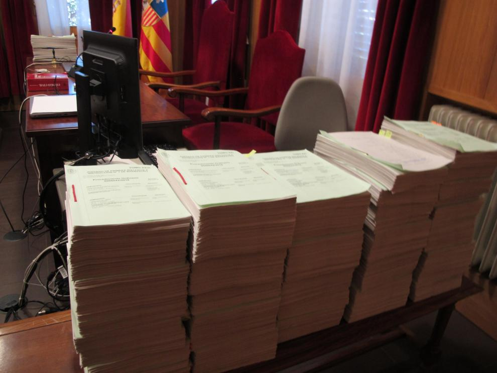 Imagen de los documentos del Procedimiento de reclamación de los 11 bienes