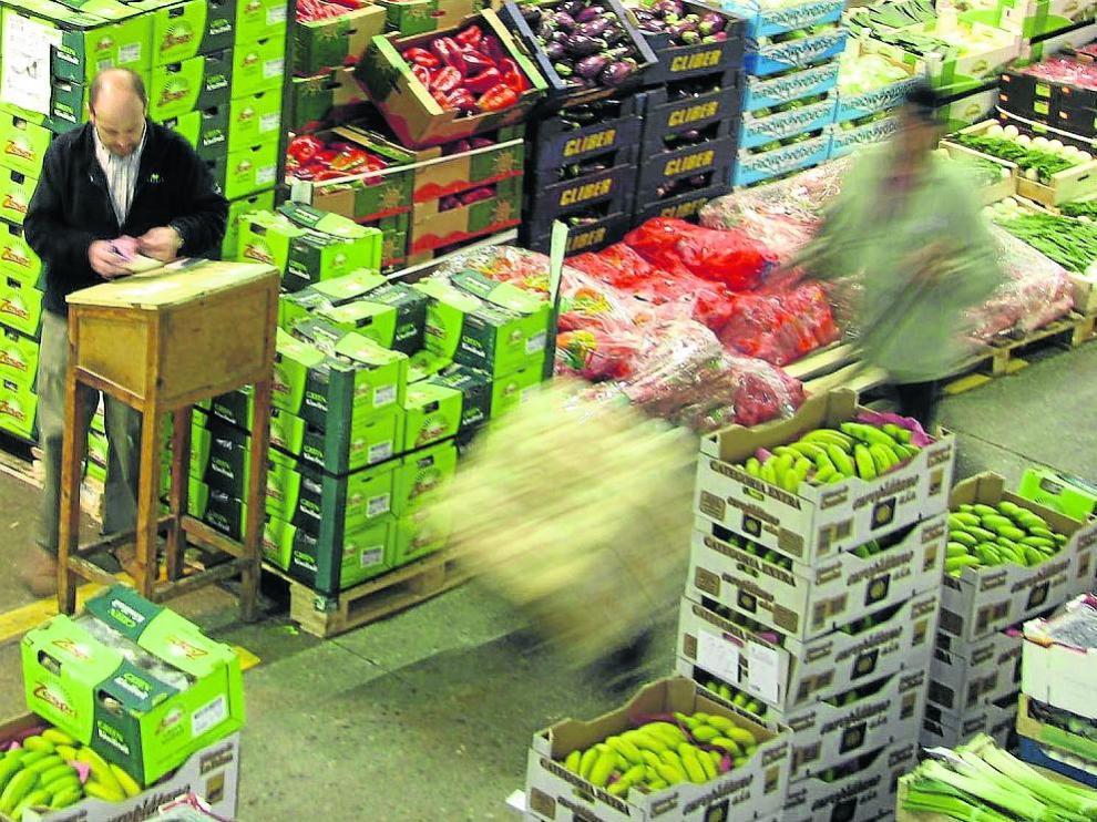 Mercado mayorista de frutas y hortalizas de Mercazaragoza incrementó sus ventas en 2018.