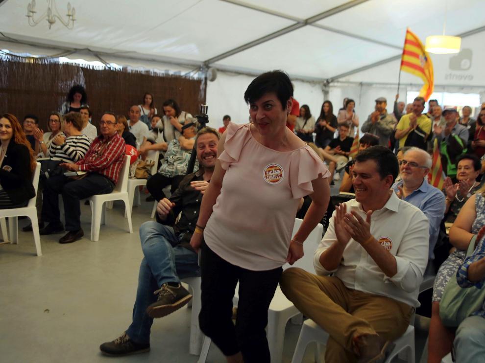 CHA ha adelantado a este jueves su gran fiesta de final de campaña en Huesca.