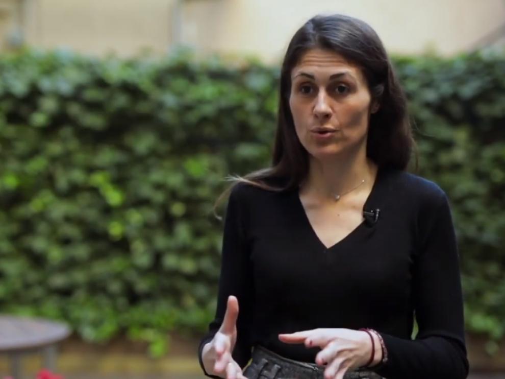 Anna Cristeto, en una captura de un vídeo de Dircom.