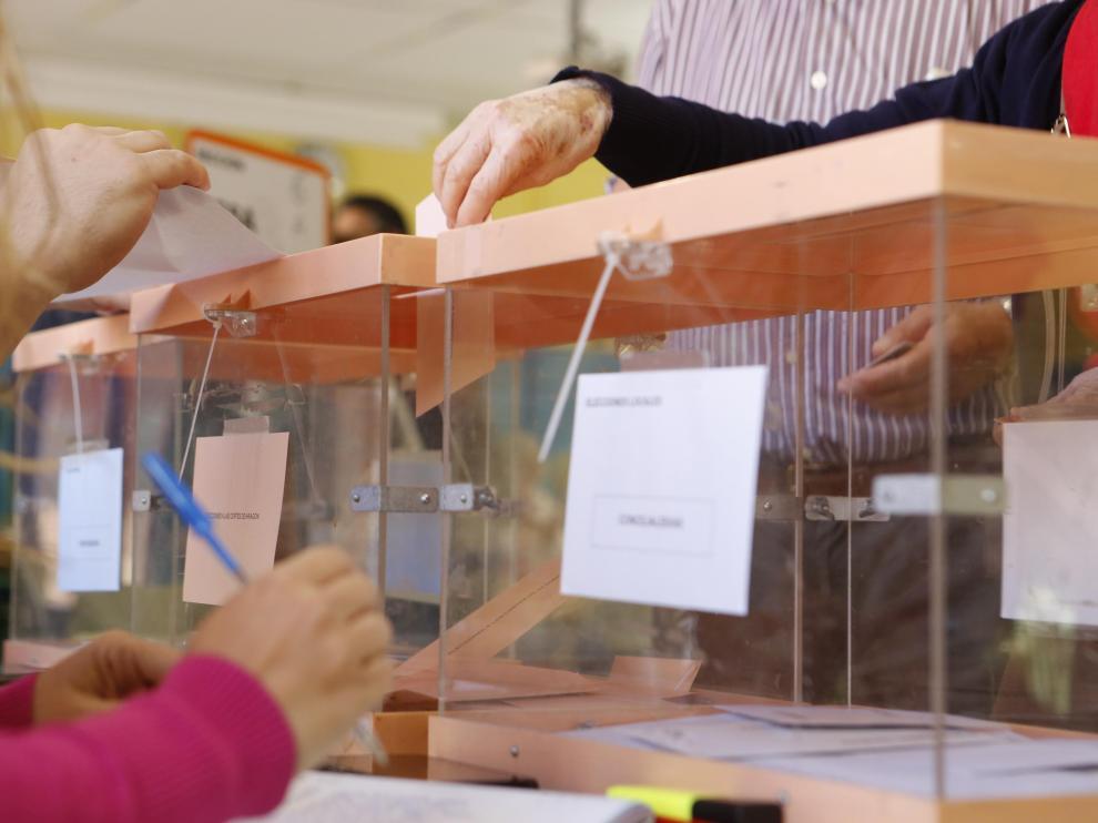 Elecciones en Aragón