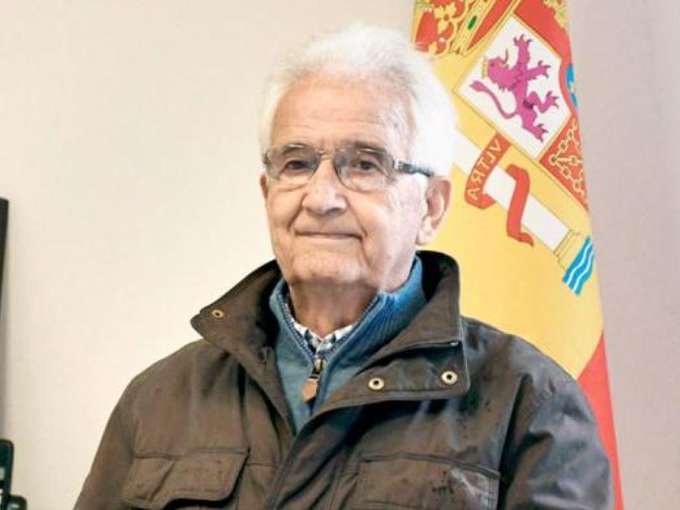 Ricardo Díez, el alcalde más veterano de España, con 89 años.